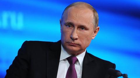 Путин озаботился военным конфликтом вблизи границ России