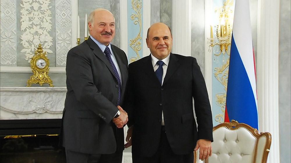 Лукашенко рассказал Мишустину, что неравные союзы долго не живут
