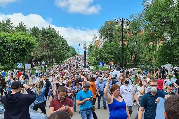 Эксперт: Хабаровск создал для Кремля невиданный прецедент