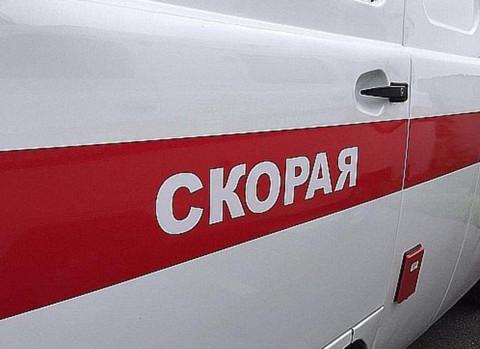 Машина скорой помощи сгорела в Приморье
