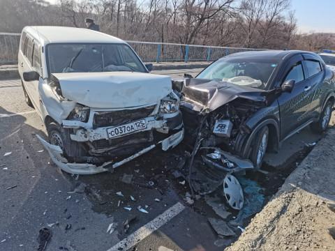 Серьезное ДТП произошло в Приморье