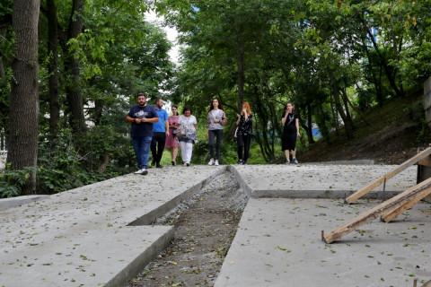 «Народные контролеры» проинспектировали благоустройство скверов во Владивостоке
