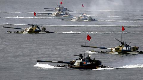 Китайский морской десант высадится во Владивостоке