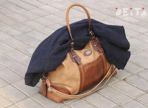 Дальневосточные полицейские нашли чемодан с кучей денег