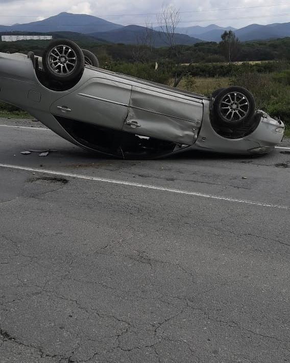 Автомойщик устроил «перевёртыш» на машине клиента