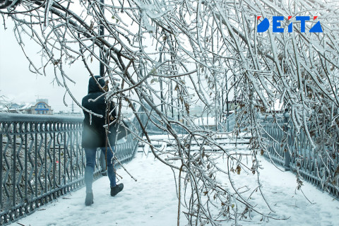 Ледяной дождь снова прошёл на Дальнем Востоке