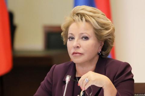 Матвиенко предложила «навести порядок» в интернете