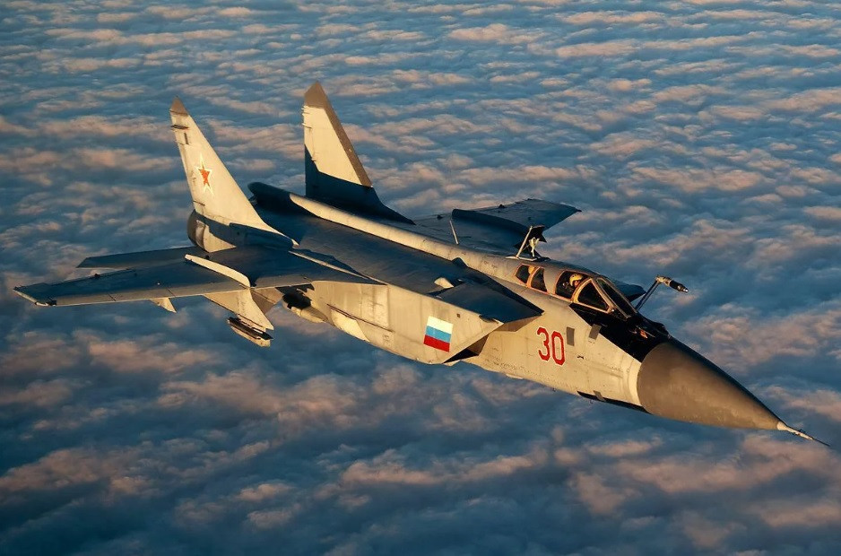 Российские истребители перехватили американские бомбардировщики над Охотским морем