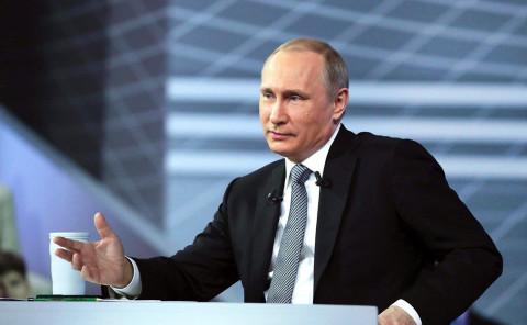 Озвучена дата Прямой линии с Путиным