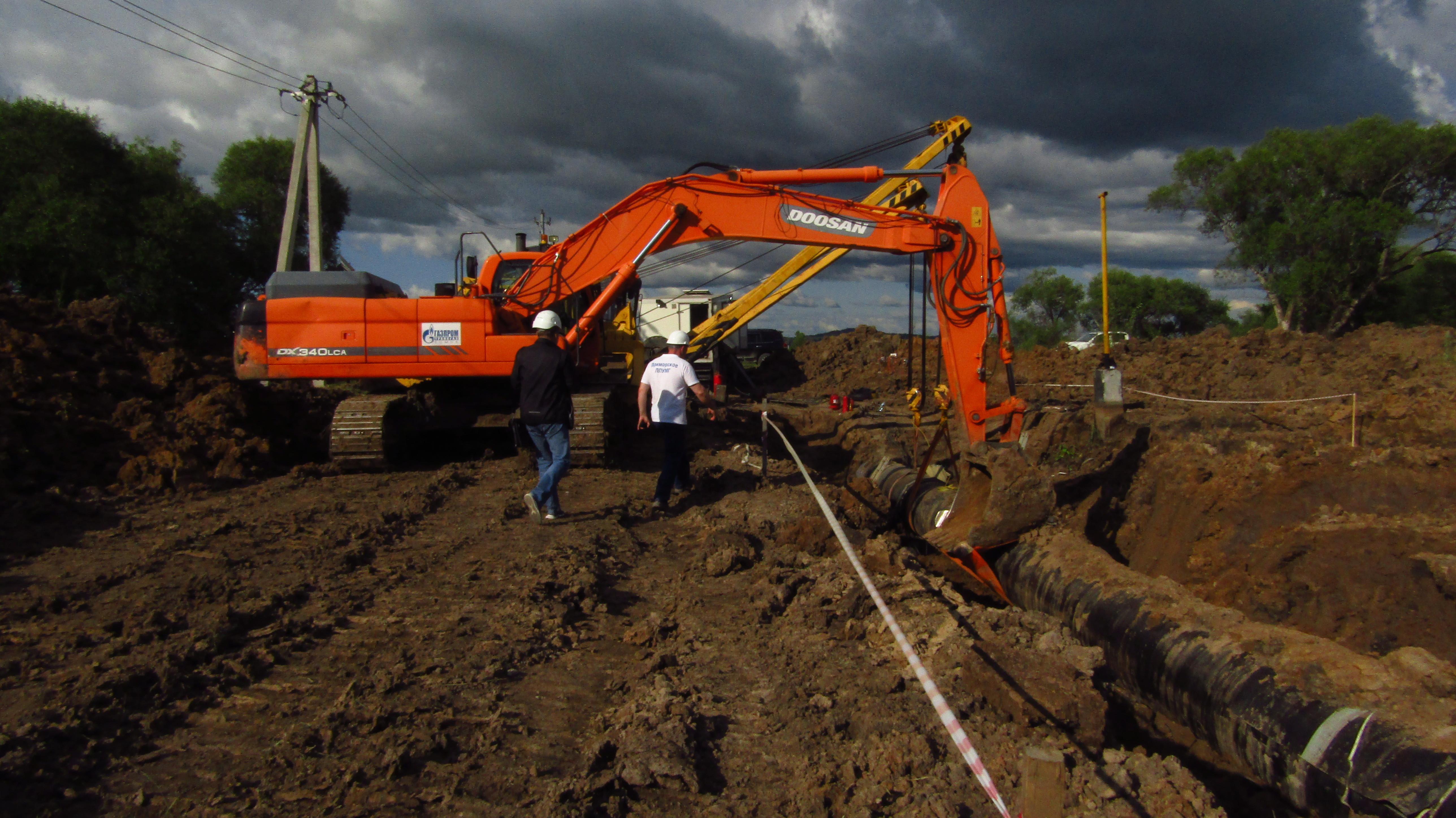 «Газпром трансгаз Томск» начал плановый ремонт газопровода «Сахалин-Хабаровск-Владивосток»