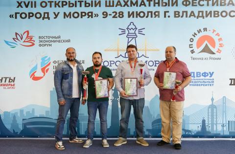 Российские шахматисты выявили сильнейших во Владивостоке