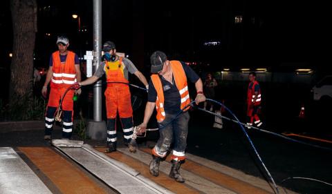 Дорожники завершили ремонт проспекта Острякова во Владивостоке