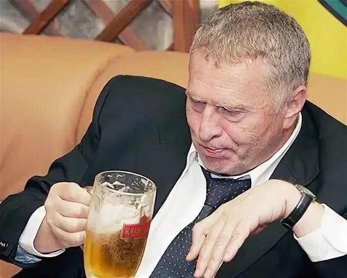 Жириновский поставил пиво на Белоруссию