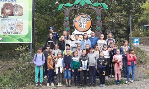 Участники «Боевого братства» из Михайловки впервые посетили «Сафари-парк»