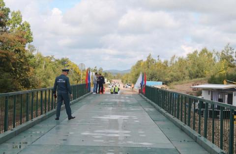 «Покровский» мост восстановили в Приморье