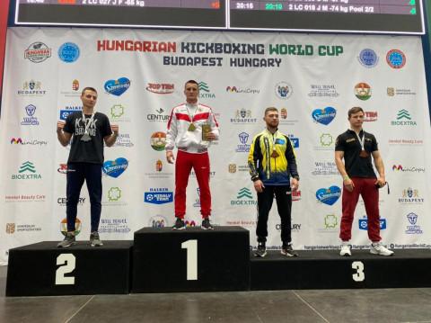 Приморец завоевал Кубок мира по кикбоксингу