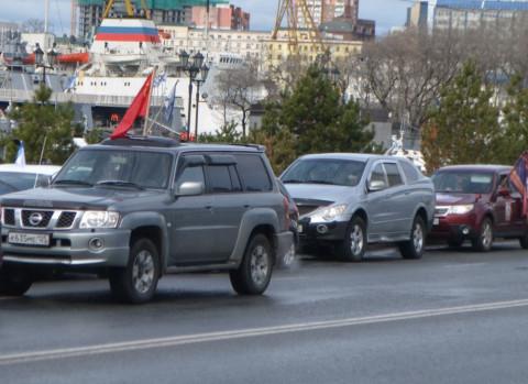 Пробки ждут владивостокских водителей в неожиданных местах