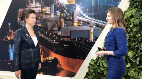 Ирина Ольховская: Мы синхронизировали инвестиции в железнодорожную и портовую инфраструктуру