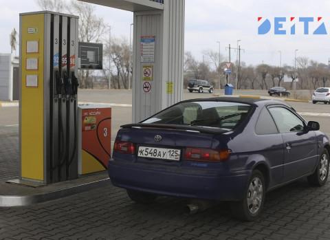 Автомобилисты отмечают дефицит бензина на заправках Владивостока