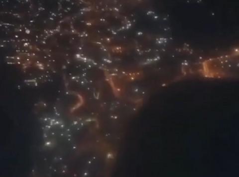 Появилось уникальное видео новогоднего Владивостока с высоты 1,5 тысячи метров