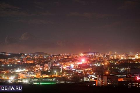 Серьезный пожар оставил часть города без электричества