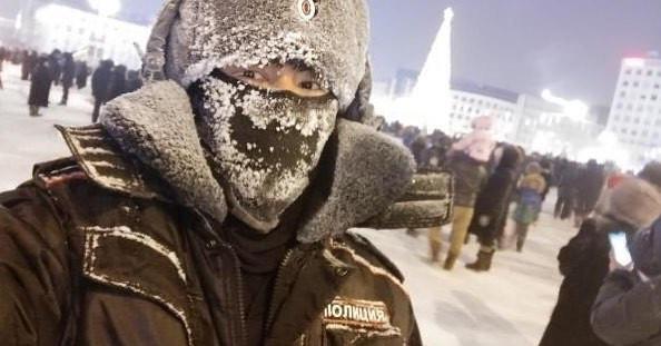 """Полицейские запустили """"снежный флешмоб"""" в Instagram"""