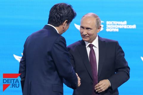 Чем завершились трехчасовые переговоры Путина и Абэ