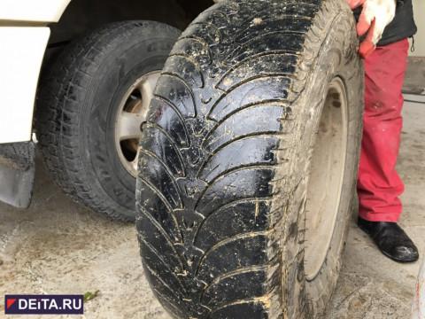 Пробить колесо на российской трассе можно даже этим