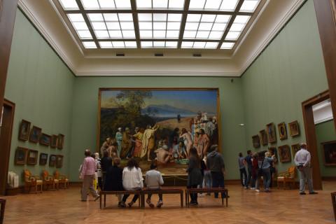 Работу известного художника украли из Третьяковской галереи