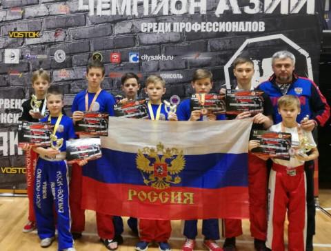 Приморцы завоевали 7 медалей на чемпионате и первенстве ДФО
