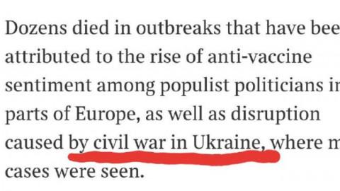 Украинские дипломаты бились в истерике после статьи The Times