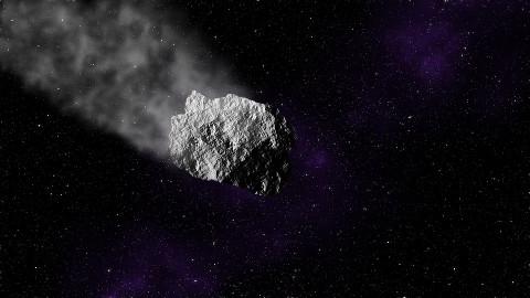 Падение огромного метеорита попало на видео