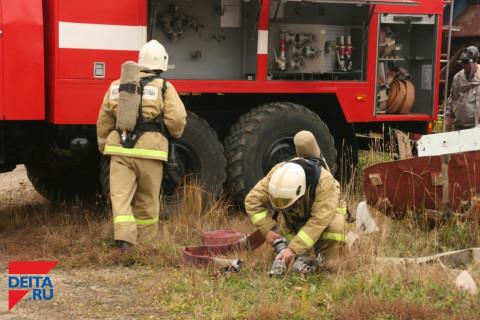 Специалисты вступили в борьбу с техногенными пожарами