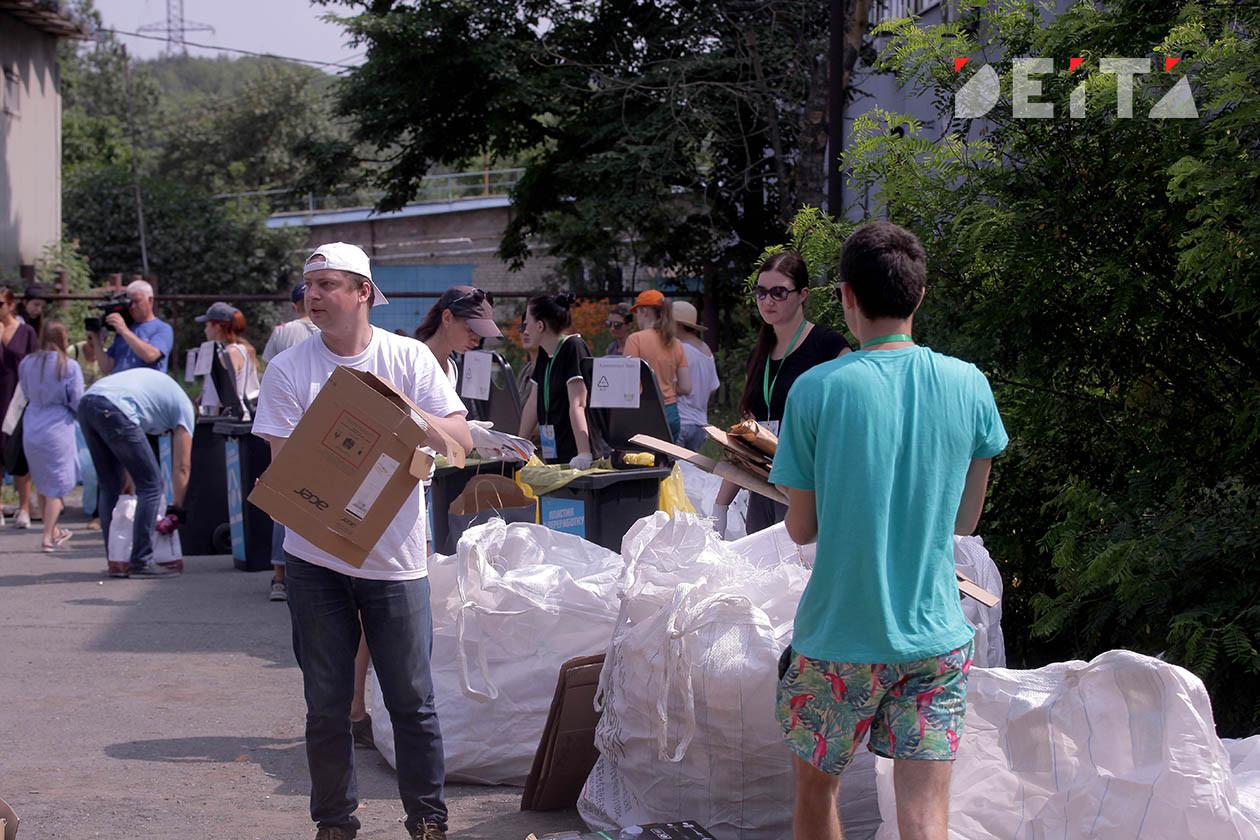 Акция по раздельному сбору мусора побила рекорды посещаемости