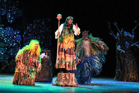Для детей и их родителей ставят сказку в театре Горького