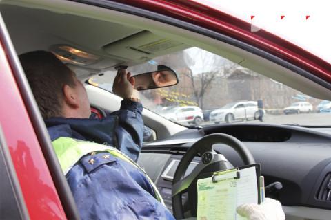 240 «готовеньких» водителей попались в новогодние праздники в Приморье