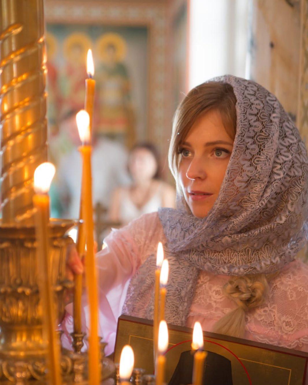 Поклонская молится за Донбасс