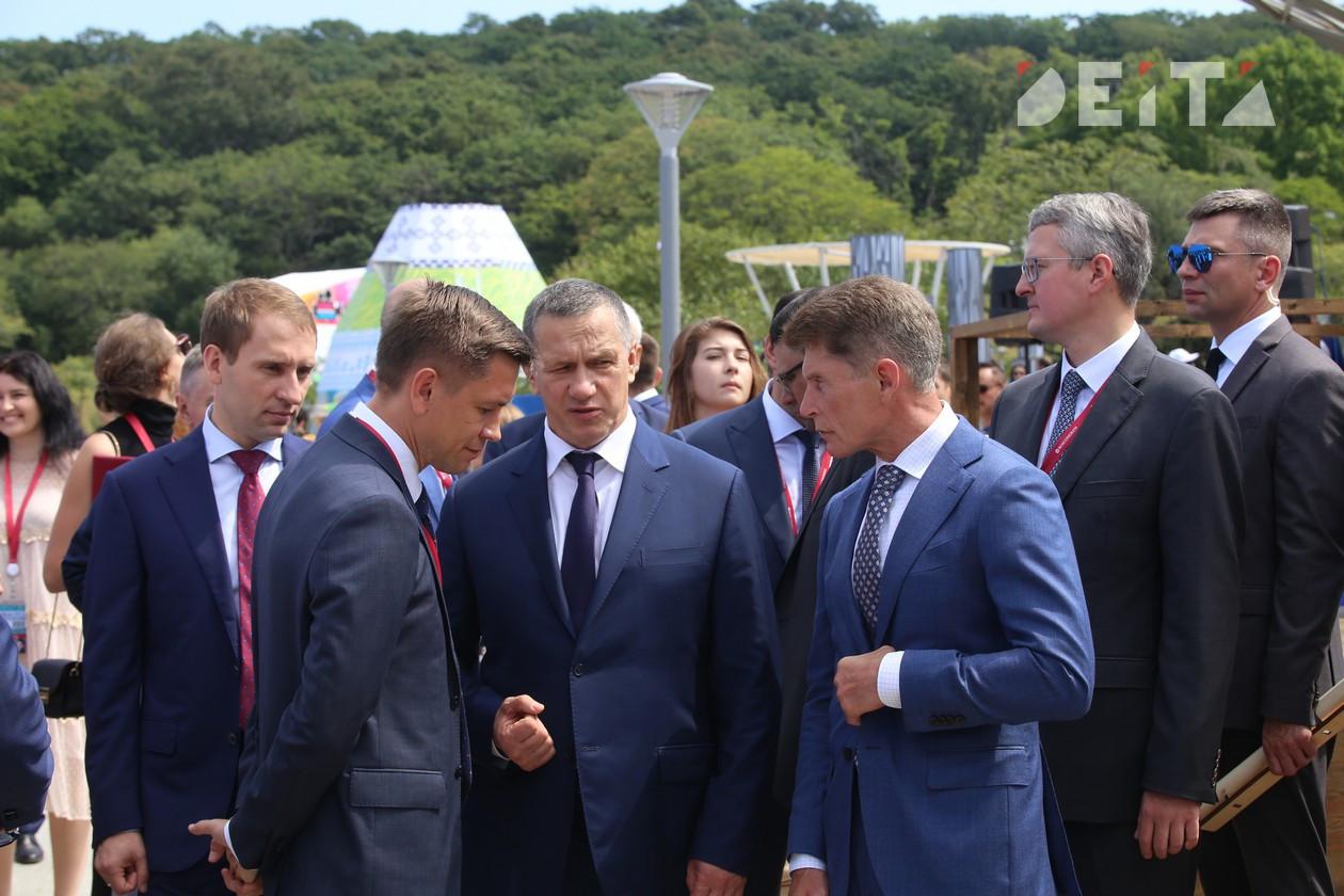 Трутнев встретится с губернаторами ДФО