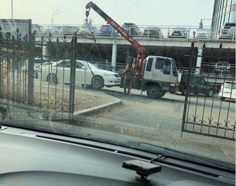 Парковку у «Седанка-сити» запретят