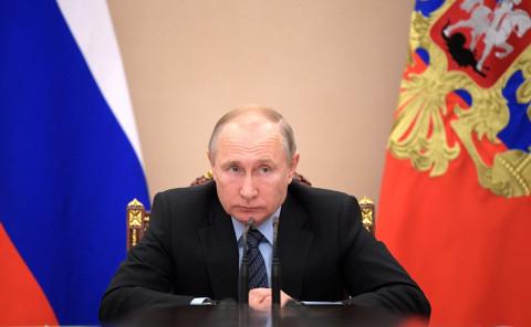 Путин потребовал от министров очередного прорыва