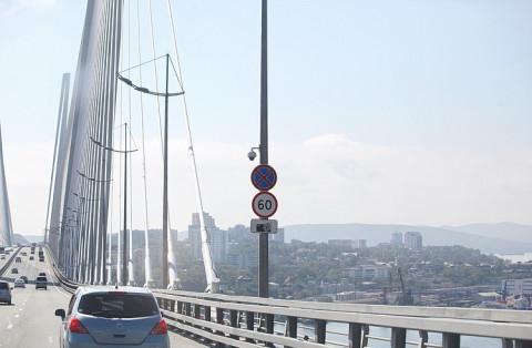 Новые камеры установлены на дорогах Владивостока