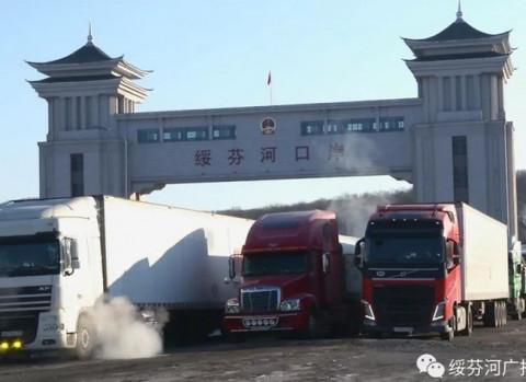 Караваны с китайскими овощами идут в Приморье
