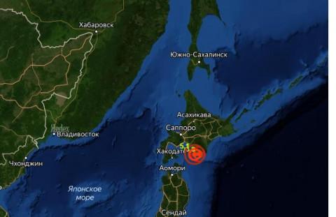 Землетрясение в Японии: 5 баллов