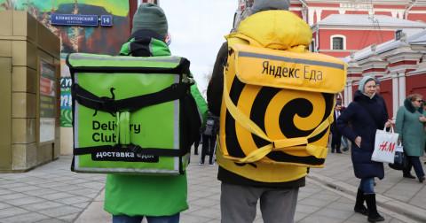 Путин поручил правительству поддержать сервисы доставки еды
