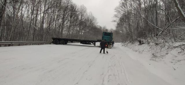 Трасса Владивосток-Партизанск блокирована