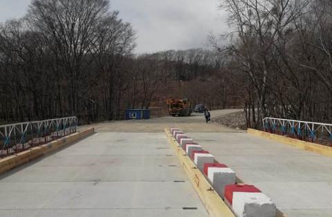 В Приморье открыт новый временный мост