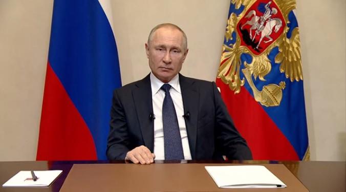 Путин бросил ручку и попросил отчёта