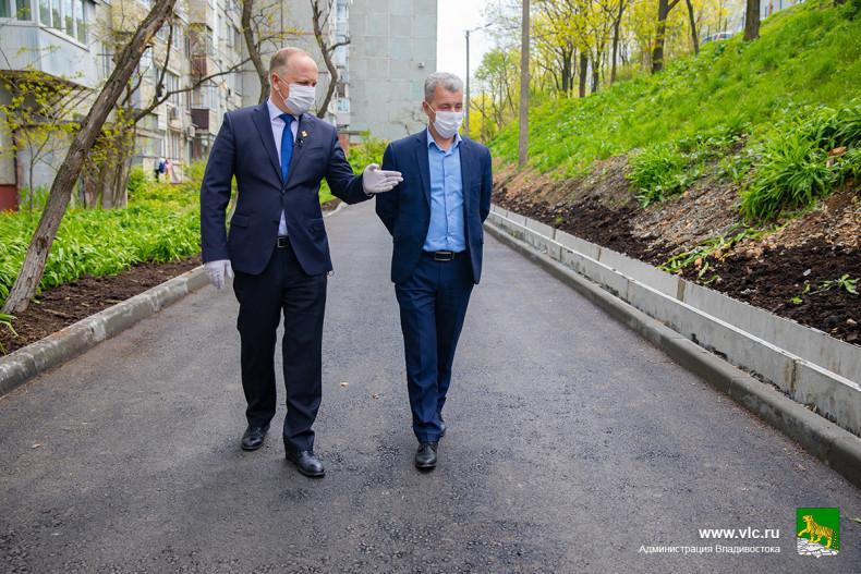 Проезд на БАМе отремонтировали во Владивостоке