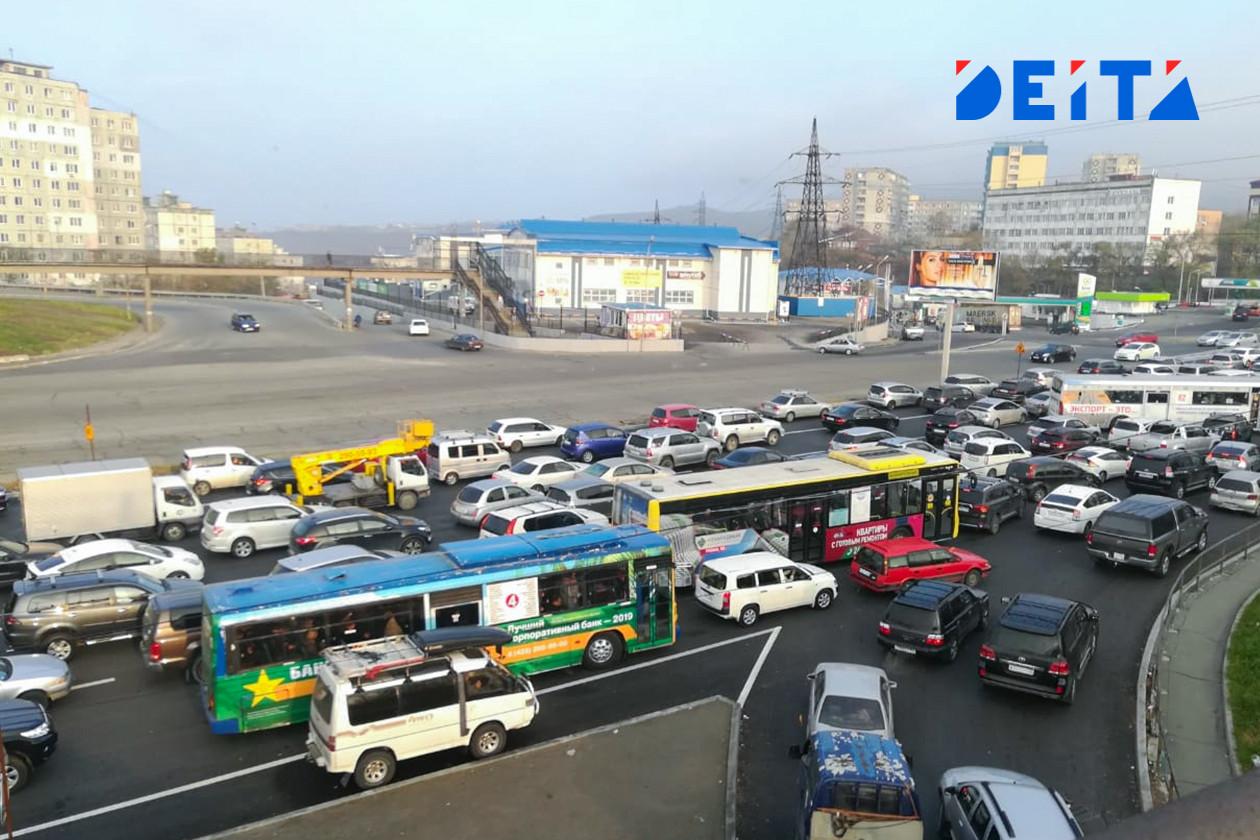 Во Владивосток вернулись пробки