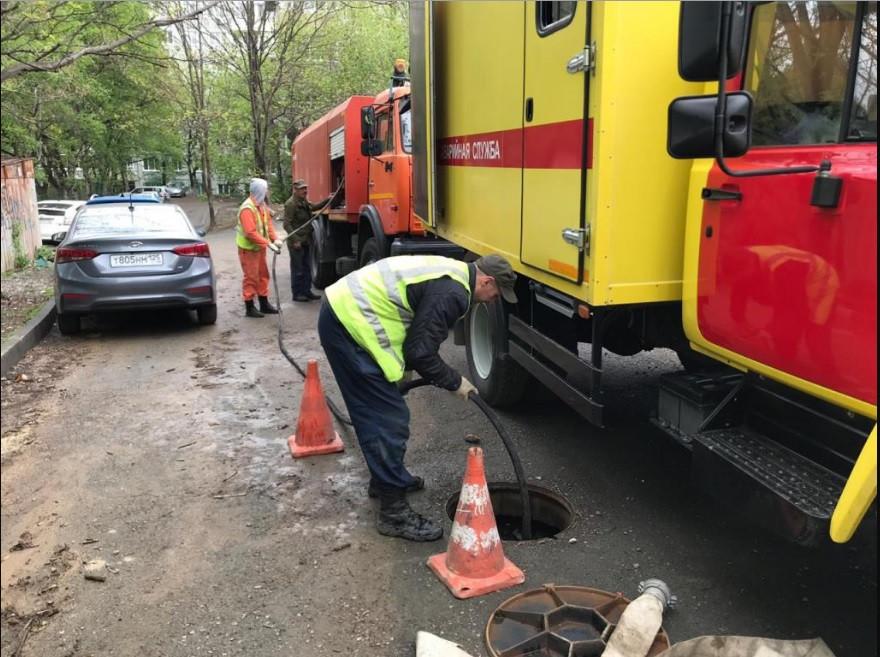 Зоны подтоплений во Владивостоке находятся под особым контролем